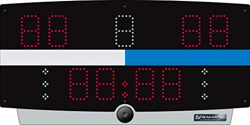 Stramatel Wasserball-Anzeigetafel W-Top, Netzbetrieb