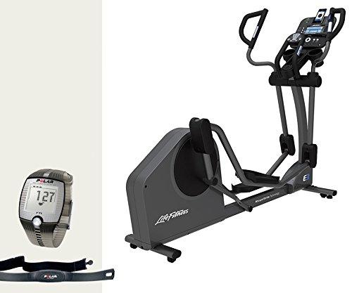 Life Fitness E3 Track Crosstrainer - Modell 2017. inkl. Gratis FT1 Polar Pulsuhr, Brustgurt und Bodenmatte