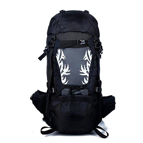 zaino pieghevole leggero leggero impermeabile zaino da viaggio ultraleggero escursionismo outdoor zaino sport esterno bicicletta ciclismo ciclo daypack zaino per alpinista ( color : black )