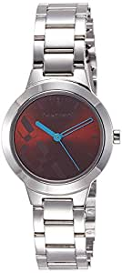 Fastrack Analog Brown Dial Women's Watch -NK6150SM02