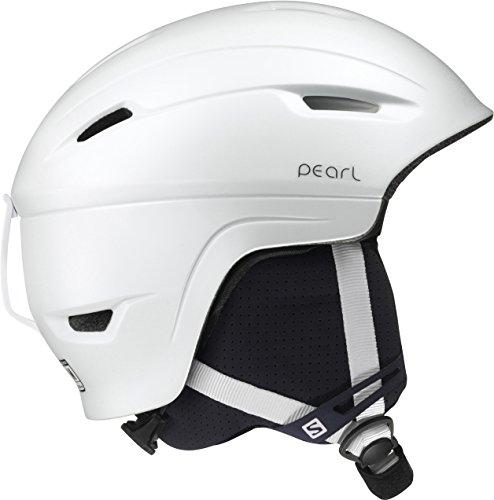 Salomon, Damen Allround-Ski- und Snowboardhelm, EPS 4D, Gr. M, Kopfumfang 56-59 cm, PEARL 4D, Weiß, L39036000