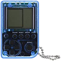 Tablet de juego webla Version Transparente Mini Retro Tetris consola de juego estudiantes colgante máquinas de