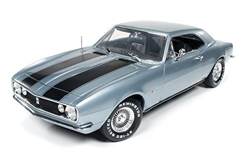 Preisvergleich Produktbild 1967 Chevrolet Camaro Silver/Blue Christine Movie Limited Edition to 1002pcs 1/18 by Autoworld AWSS114 by Chevrolet
