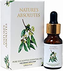 Nature's Absolutes Pure Eucalyptus Essential Oil, 15ml