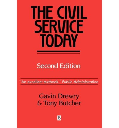 the-civil-service-today-author-gavin-drewry-jan-1993