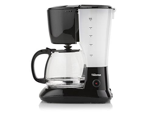 Tristar Kaffeemaschine mit 1,25L Fassungsvermögen – für 10-12 Tassen, auch für camping, CM-1245