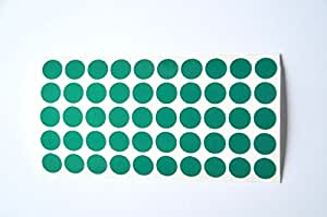 Geocaching 50 x réflecteurs, vert, feuernadel, réflecteur, hochreflektierend nachtcache autocollant oRALITE 5500 eNGINEER gRADE markenfolie, résistant aux intempéries