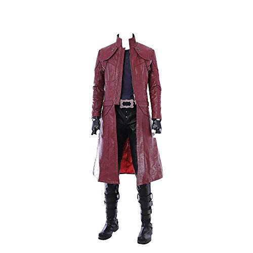 Glam Cos Devil May Cry 5 - Dante Male Cosplay Kostüm - - X-Large (May Devil Cry Kostüm Dante)