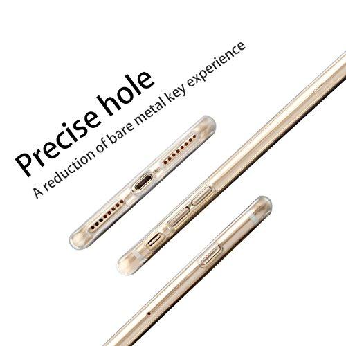 Coque iPhone 7 Plus , Etui iPhone 7 Plus , CaseLover Etui Coque TPU Slim pour iPhone 7 Plus (5.5 pouces) Mode Flexible Souple Soft Case Couverture Housse Protection Anti rayures Mince Transparent Sili Feuille