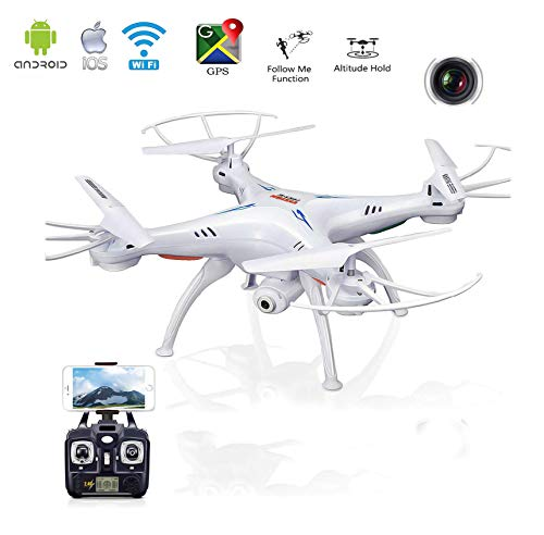 Magicwand Wi-Fi FPV R/C 2.4Ghz 6-Axis Vision Quadcopter Drone with 2 MP HD Camera