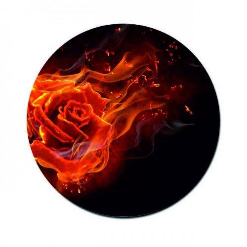 Mousepad rund bedruckt mit Foto Logo Motiv, perfektes Geschenk Geschenkidee Mauspad