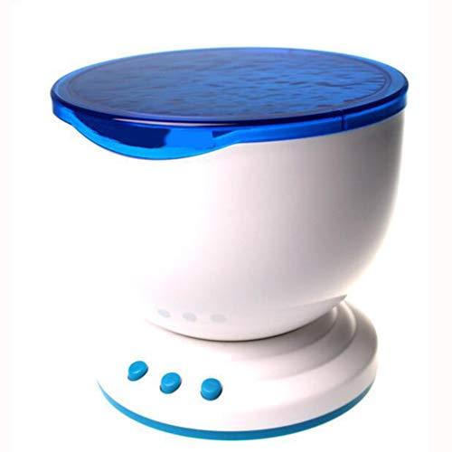 CJB18 LED-Projektionslampe Meereswellenlichter, kreatives Nachtlicht/intelligente drehende Bunte Beleuchtung für Weihnachten/Partei