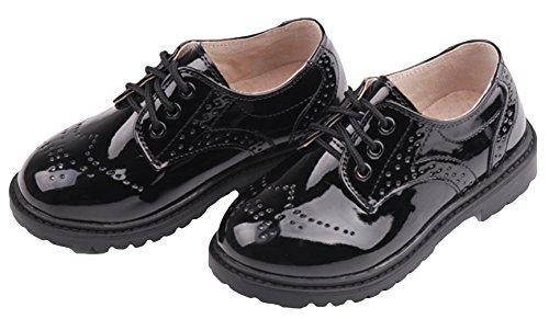 Chaussures Vernis Yboa Enfant Gentleman Garçon Similicuir dvq4E