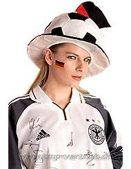 1000 Deutschland Tattoo Fahnen 1.000er Fan Set - EM 2016 Fanartikel