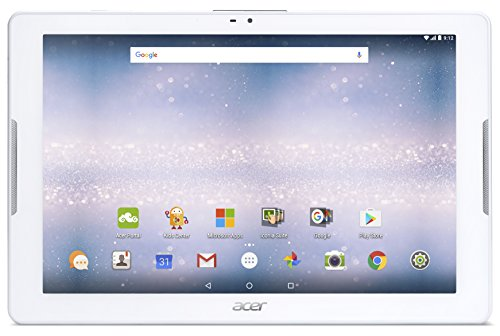 Acer Iconia One 10 B3 A32 K221 Tablet con Processore MediaTek MT8735 Ram 2GB eMMC 16GB Display IPS 10.1 SD card reader LTE Android Bianco