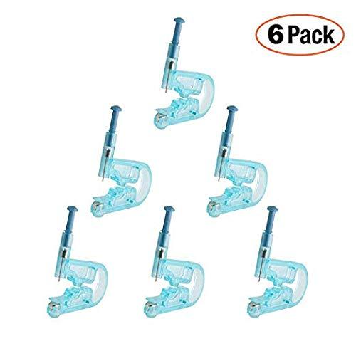 Einweg Sicherheit Ohrring Gun Piercing Einheit Werkzeug Pierce Kit 6 Stück