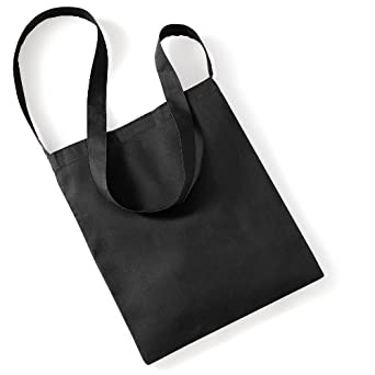 Westford Mill Organic Cotton Sling Tote Bag - 8 Litres (One Size ...