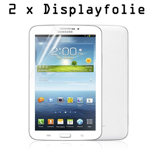 2x Folie für Samsung GALAXY Tab 3 7.0 Zoll (Jahr 2013) SM-T210 T211 T215 P3200 P3210 Display Schutz Tablet NEU
