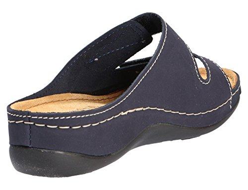 Tamaris femme-pantolette 27510 Bleu - NAVY 805