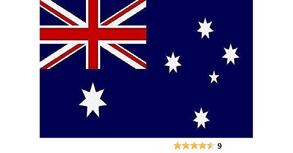 U24 Aufkleber Australien Flagge Fahne 8 X 5 Cm Autoaufkleber Sticker Auto