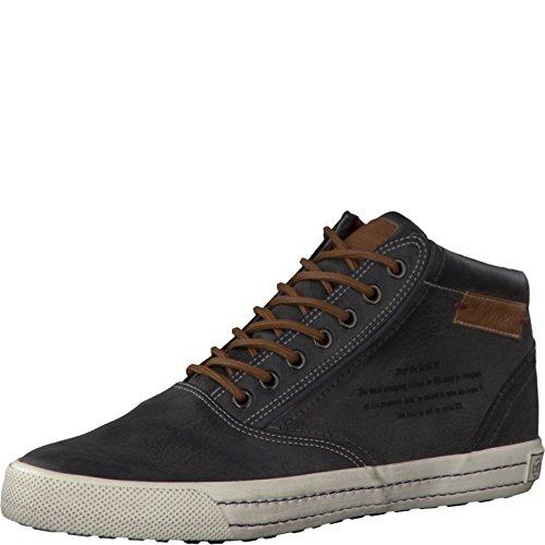 s.Oliver Herrenschuhe 5-5-15240-27 Herren Sneaker, Schnürboots, Boots, Stiefel schwarz (BLACK ANTIC), EU 41