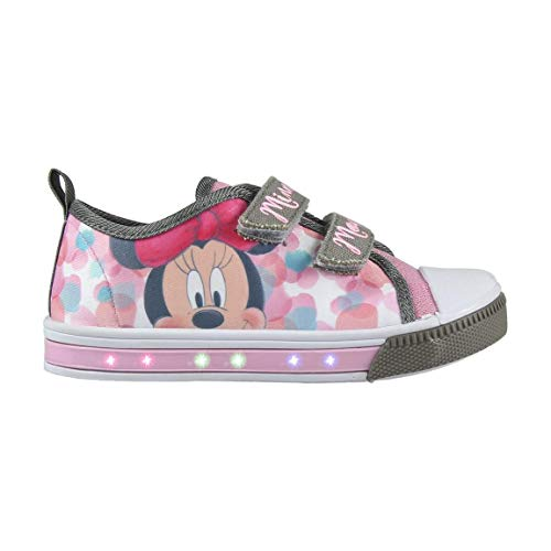 Zapatillas Minnie Mouse con Luz (28)