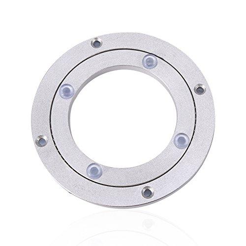 Heavy Duty Aluminium Legierung Rotierende Lager Turntable Runde Speisetisch Smooth Swivel Plate ( Abmessung : 10inch )