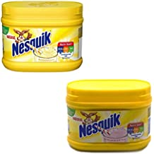 Nesquik Strawberry and Banana Flavour Bundle | Enjoy These Classic Flavours with Your Milk | 1x300g