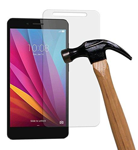 yayago Bildschirmschutzglas 0,26 mm Bildschirmschutzfolie für Huawei Honor 5X/Huawei GR5 (Nicht Geeignet für Huawei 5X Play) Glasfolie Hartglas 9H (bewusst Kleiner als Das Bildschirm, da Dieses gewölbt ist)