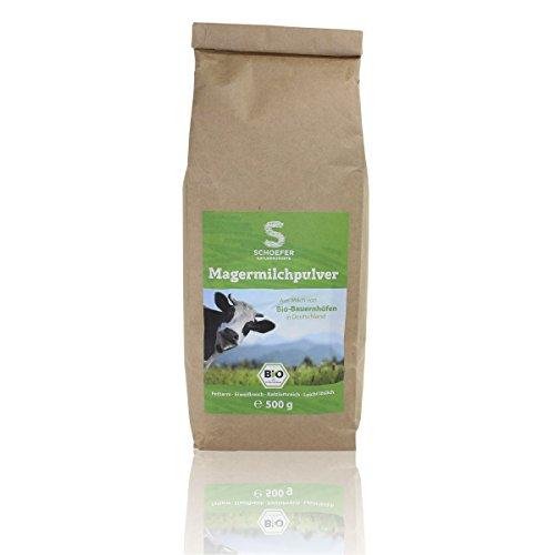 Schoefer Naturprodukte Bio Magermilchpulver / fettarmes Milchpulver für Joghurt, Smoothies /...