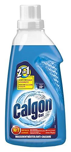 Calgon 2in1 Gel, Wasserenthärter gegen Kalk & Schmutz in der Waschmaschine, 750 ml