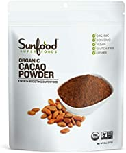 Sunfood Superfoods Cacao Powder, 8oz, Organic