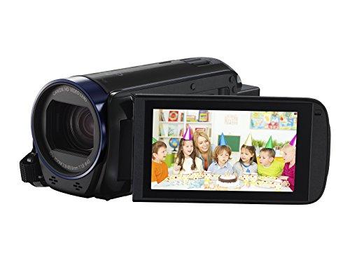 Canon Legria HF R68 Videocamera Digitale con Wi-Fi, Full HD, Nero/Antracite