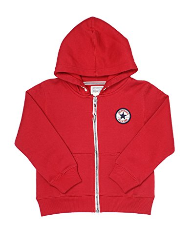 Converse Boys Solid Sweat Shirt (_617847010019_Red_12-13 Years_)