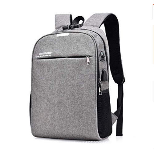 LLU Anti-Diebstahl-Rucksack Smart USB-Aufladerucksack College Wind Student Tasche Multifunktions-Business-Computer-Tasche - Erfassen Reise-tasche