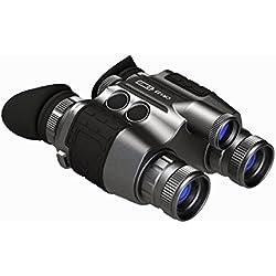 Luna Optics Premium-Gafas de visión Nocturna, Color Negro