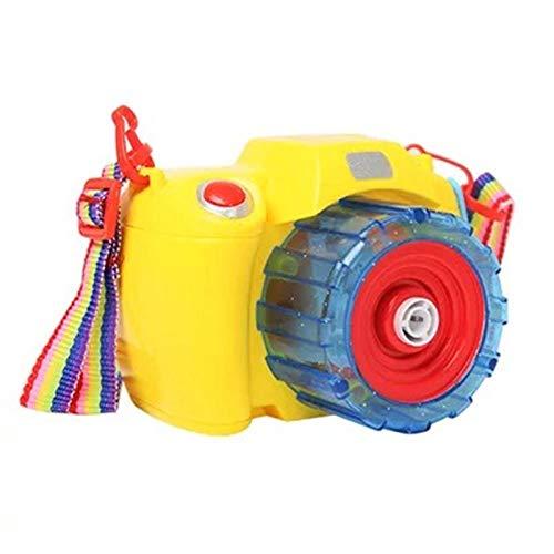 Yvonnezhang Elektrische Luftblasenmaschine _ automatische elektrische Luftblasenmaschinenkinder, die Luftblasengewehrspielzeugkamera mit Ton und Licht @ 4 durchbrennen (Die Halloween-party Für Spaß-kind-aktivitäten)