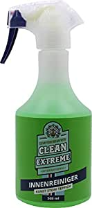 cleanextreme interior car cleaner 500 ml special cleaning agent for car cleaning for fabric. Black Bedroom Furniture Sets. Home Design Ideas