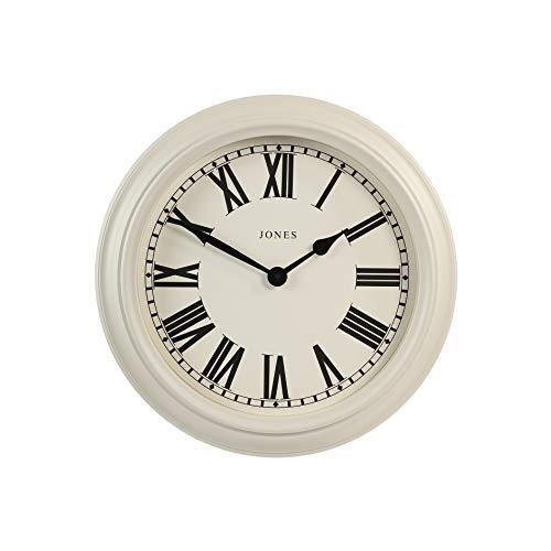 diseño clásico de sala de estar JONES CLOCKS Opera House Reloj De Pared Grande Y Silencioso