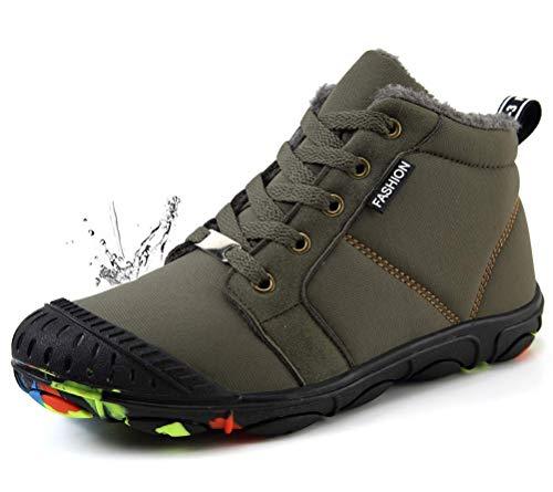 Niños Y Niñas Fur Calentar Botas Invierno Botines Impermeable Botas De Nieve  Al Aire Libre Boots 2c45b80aaee