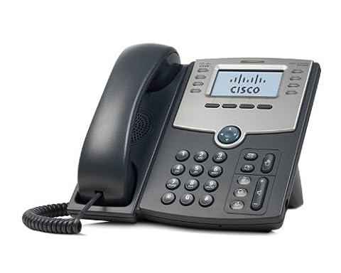 Cisco SPA508G Téléphone VoIP 8 lignes avec affichage PoE / Port pour PC
