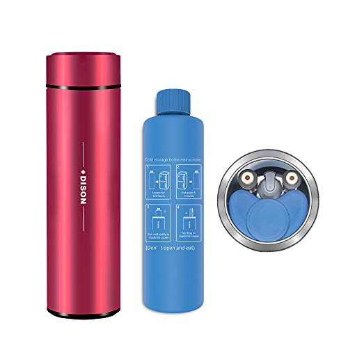 Dison Bolso Refrigerador, Mini Nevera Portátil, Pluma de insulina, Refrigerador Refrigerador, Refrigerador...