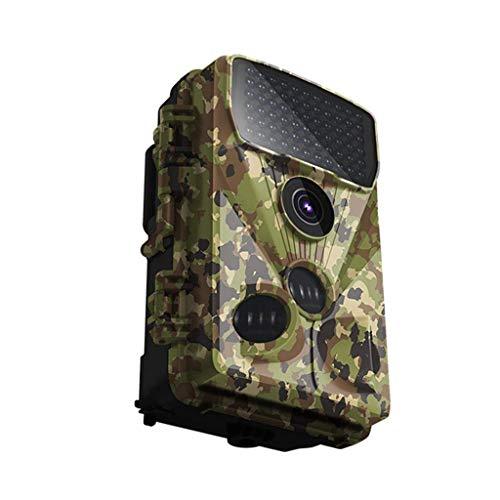 GBX Outdoor-Reisekamera-Jagdkamera-Rückfahrkamera - 20 Mp 1080 P Full Hd Wildlife Reconnaissance mit Action-Nachtsicht, 120 ° Weitwinkelobjektiv, 42 Infrarot-LEDs und 2,4-Zoll-LCD, IP66-wasserdichte -