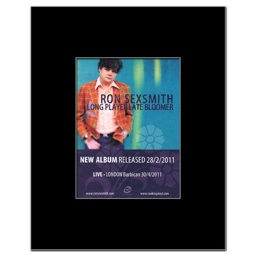 Long Late Player Bloomer (RON SEXSMITH - Long Player Late Bloomer Matted Mini Poster - 13.5x10cm)