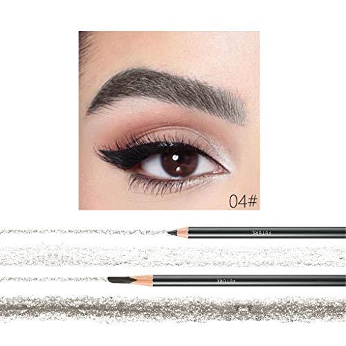 Cooljun Eyebrow Crayon Microblading Peel-off Crayon Sourcils Marker Doublure Crayon Cosmétique Imperméable,Crayon de maquillage crayon cosmétique (D)