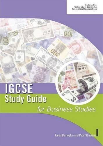 IGCSE Study Guide for Business Studies (IGCSE Study Guides) by Peter Stimpson (2005-05-27)