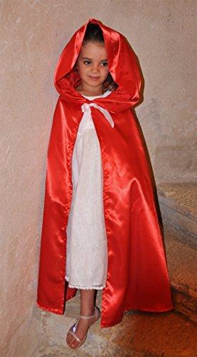 Cape de princesse ou capeline à grande capuche Made in France