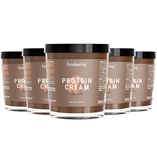 foodspring Protein Cream, 6 x 200g, Schokocreme mit hohem Proteingehalt