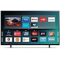 تلفزيون كيه ام سي ذكي 43 انش، شاشة ليد لون اسود - K18M43262SMART