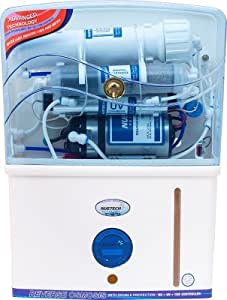 NUETECH, WATER PURIFIER, 10 LITRES, RO+UV+TDS+MINERALS, 7 STAGES, WHITE/BLUE